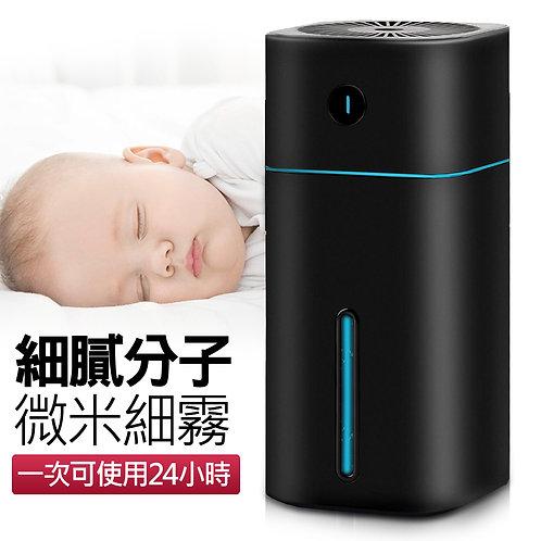 智能水氧機 加濕器 (1000mL大容量) 黑色