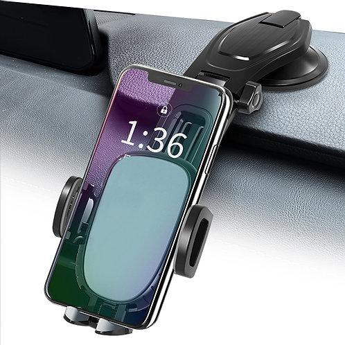 單手操作吸盤式汽車用手機支架 擋風玻璃 儀表板