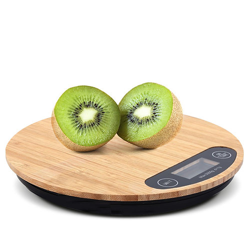 1g/5kg 竹面廚房料理秤 電子秤 (非交易使用)