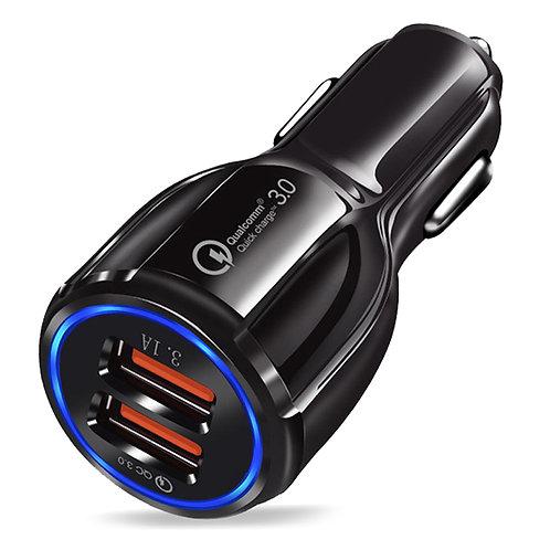 QC3.0極速車用充電器 車充 快充