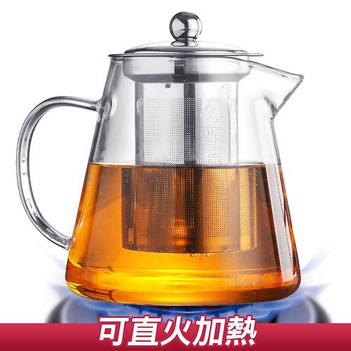 耐熱加厚玻璃泡茶壺 咖啡壺 550mL