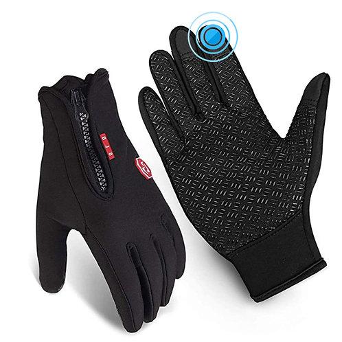 防潑水保暖可觸控手套 男女通用款