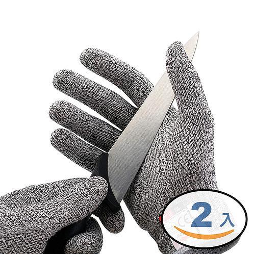 HPPE柔鋼防割手套 2入組