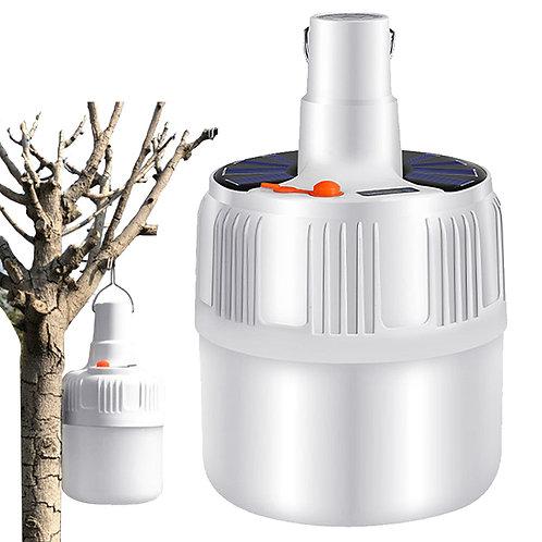 24LED充電式露營燈80W 緊急照明 手電筒 充電燈泡 擺攤