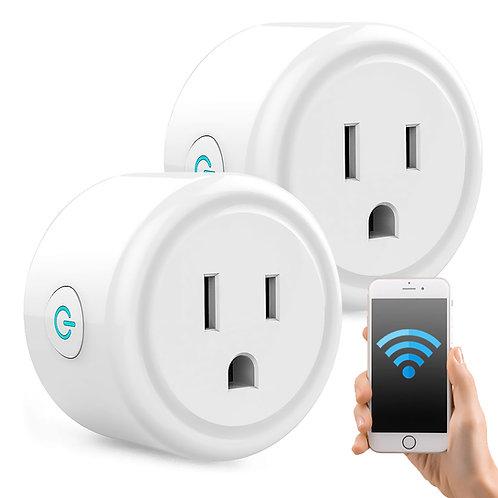 WiFi智慧型插座 2入組