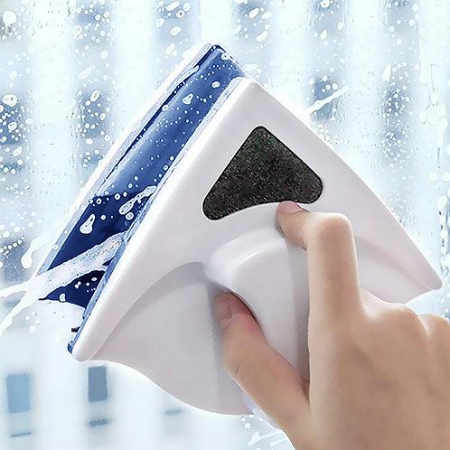 三角磁吸式擦窗器 單層玻璃 玻璃清潔/玻璃刮刀