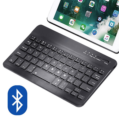 10吋超薄迷你無線鍵盤 適用手機、平板
