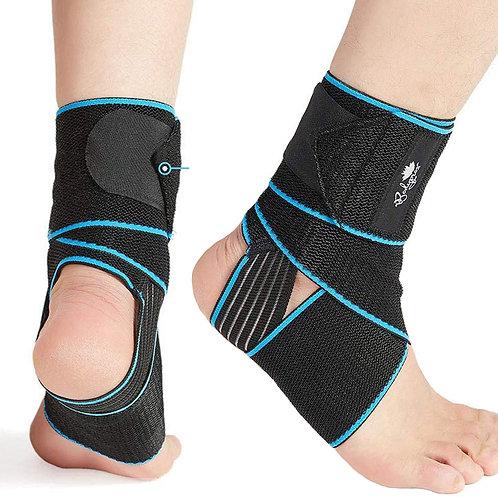 纏繞式加壓支撐護踝 男女通用款 肌腱支撐 腫脹緩解