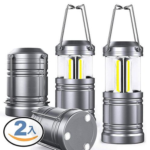 手提式露營燈 手電筒 2入組