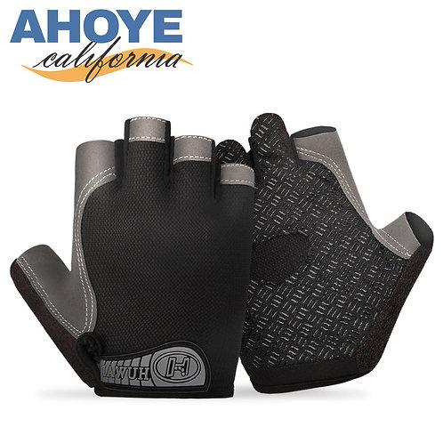 重訓用防滑半指手套 男女通用款 2雙入