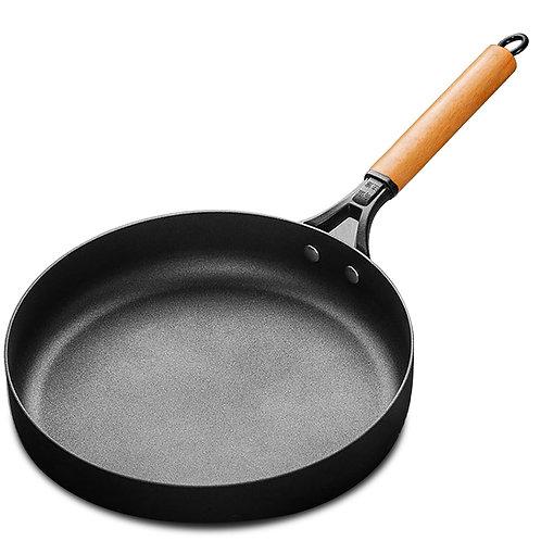 日式頂級櫸木柄不沾平底鍋 26cm 不沾鍋 煎鍋