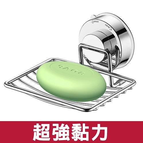 真空吸盤不鏽鋼無痕掛勾 肥皂架