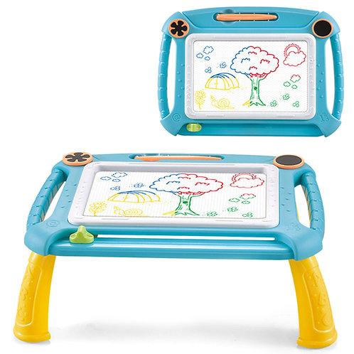 兒童彩色磁性畫板 小桌子模式 寫字版 塗鴉版