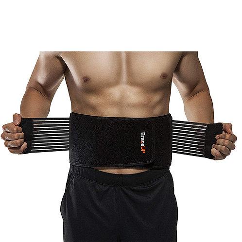 健身健力 鋼板加壓護腰帶(腰圍70-95cm)
