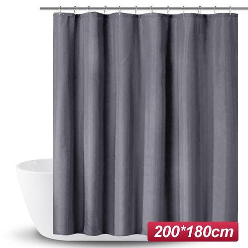 PEVA加厚防水浴簾 180*200cm 灰色