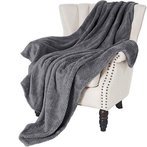 柔軟親膚懶人毯子 披肩毯 四季被 毛毯