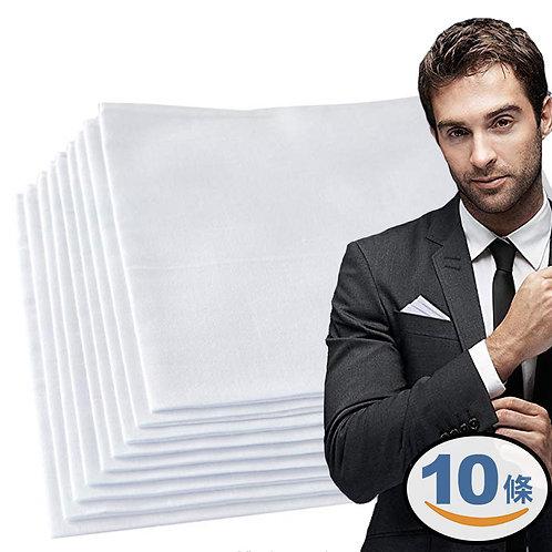 有機全棉紗布手帕 10條入 無漂白無染色
