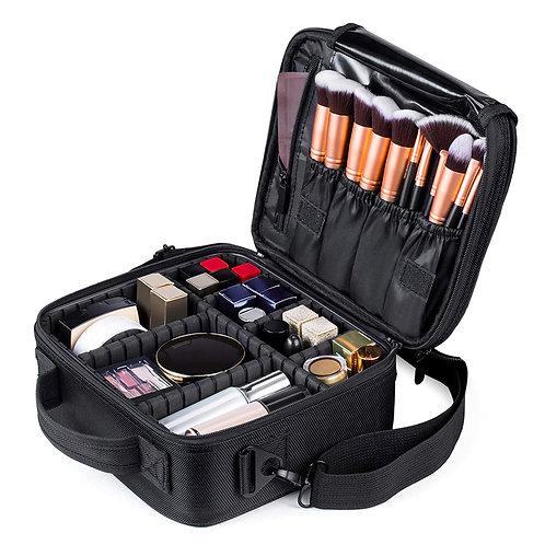 手提式多隔層旅用化妝包(25*23*9cm) 收納包