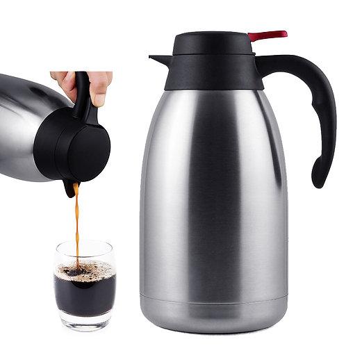 不鏽鋼真空保溫壺1200mL 熱水壺 咖啡壺