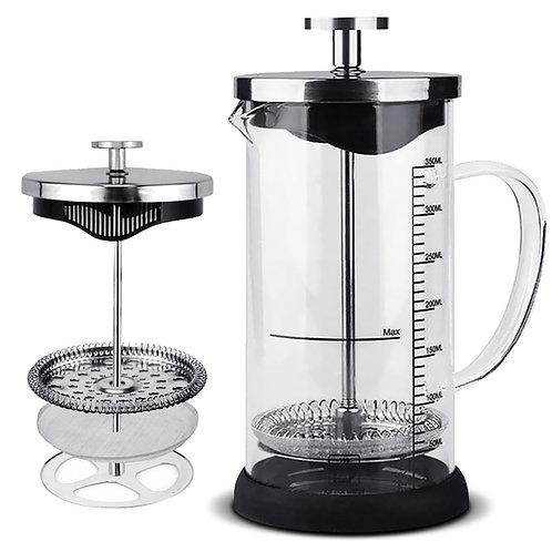 法式濾壓壺350mL 1-4人份 奶泡器 泡茶器