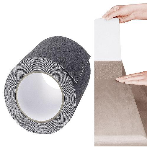 寬版灰色金剛砂防滑膠帶 5x500公分 止滑貼條