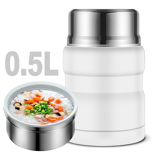 304不鏽鋼真空食物燜燒罐 500mL