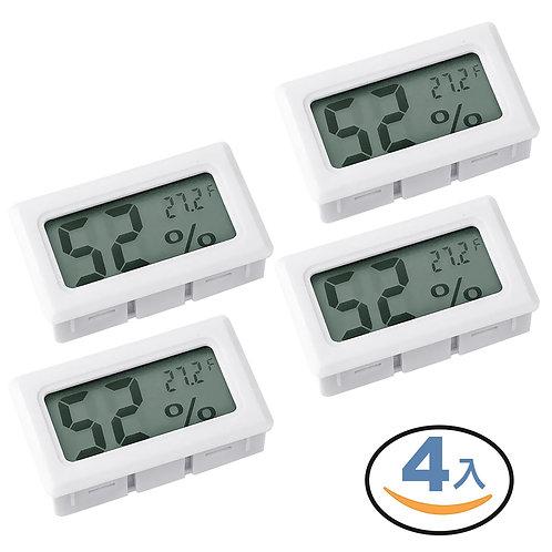 迷你溫濕度器 溫度計 4入組