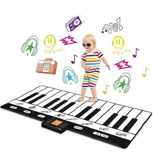 鋼琴音樂遊戲墊 8種樂器可選 爬行墊
