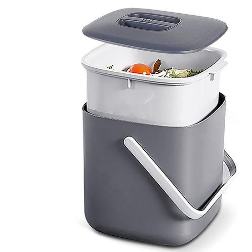 廚房瀝水廚餘回收桶 3L