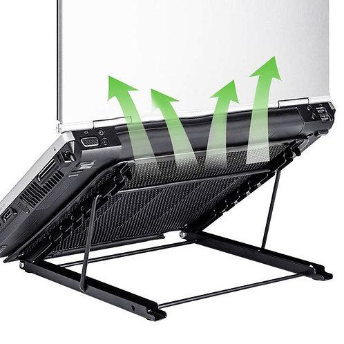 極速散熱不鏽鋼筆電架 高度可調整