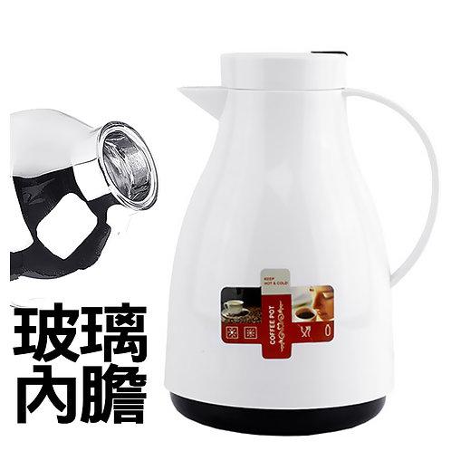 玻璃內膽熱水壺 1L 保溫壺