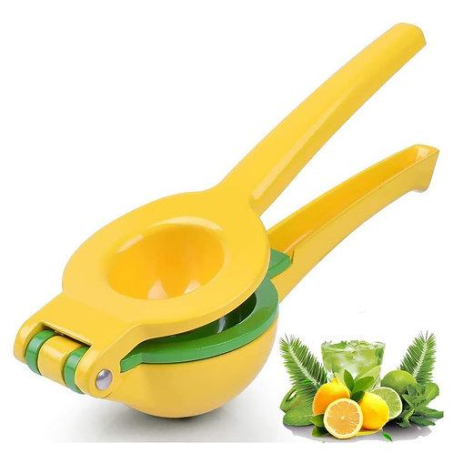 鋁合金雙層可調手壓式蔬果榨汁器 檸檬 柳橙