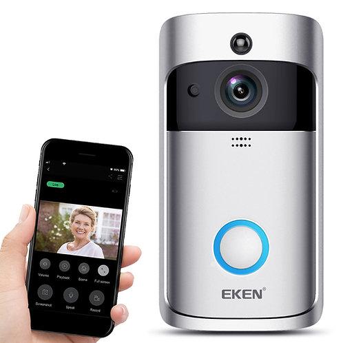 Wifi遠端視訊監控無線門鈴 對講機