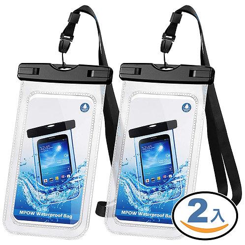密封扣可觸控手機防水袋 2入組 防水包