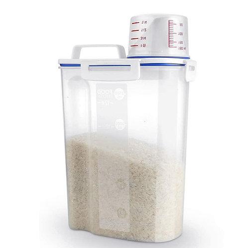 大容量好拿好倒儲米桶 密封罐