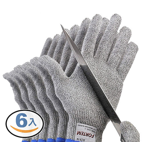 HPPE柔鋼防割手套 3雙入