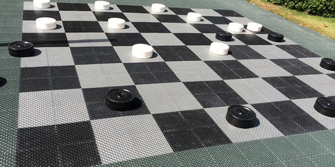 Life-Size Checkers