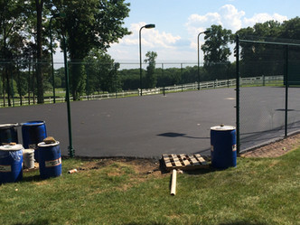 We first installed this court in 2011