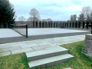 Brick paver walkway & Steps
