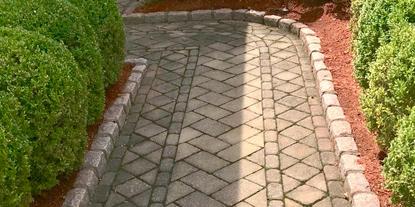 Ornamental Stone Walkway