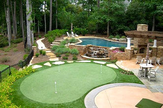 Putting Green & Landscaping
