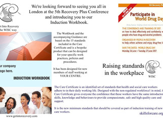 Introducing our Bespoke Induction Workbook.