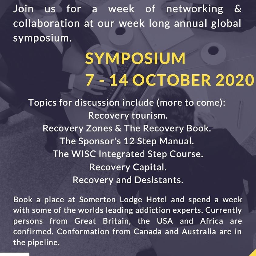 Somerton Lodge International Recovery Symposium