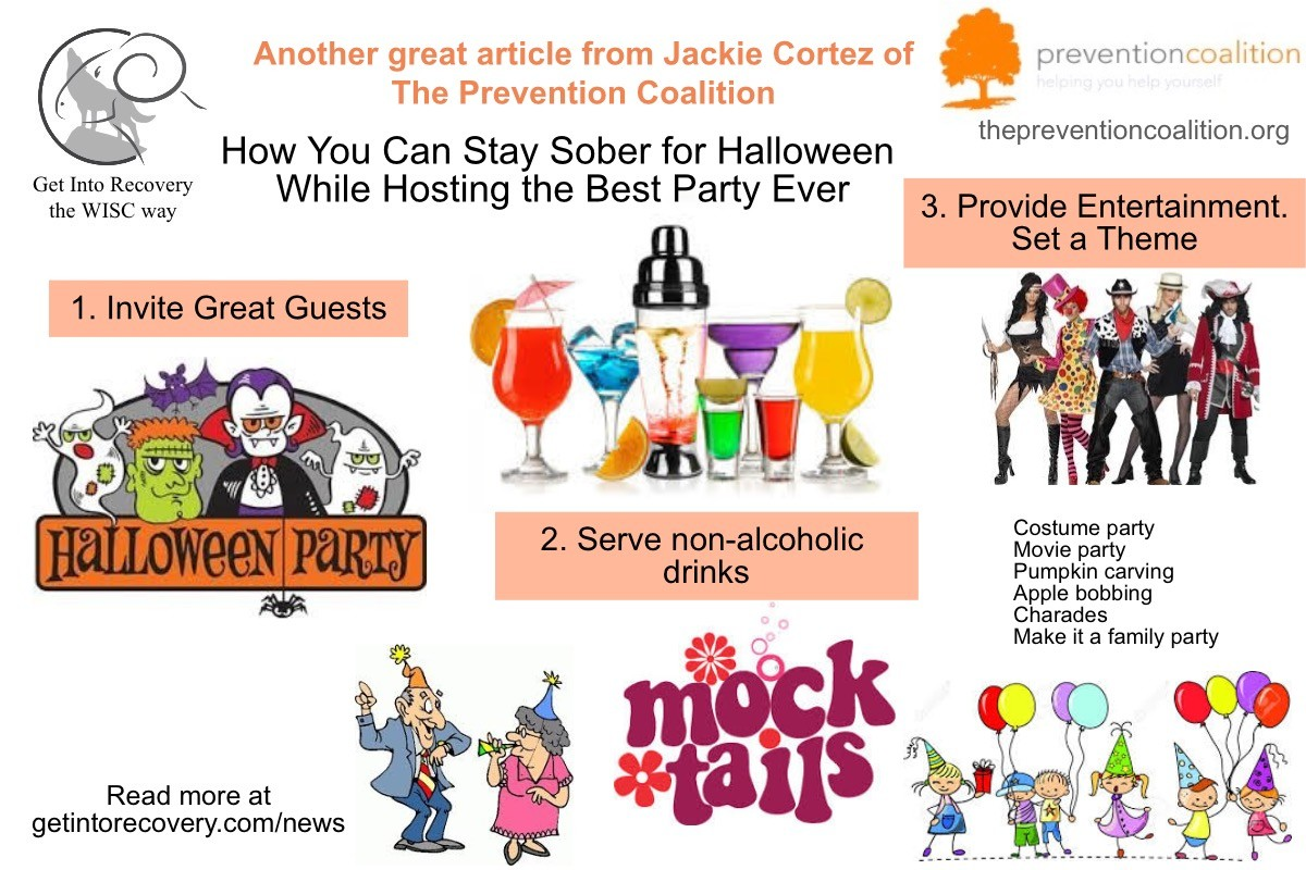 how you can stay sober for halloween while hosting the best party