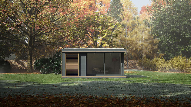 These pop-up modular pods can add a garden studio or off