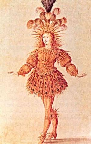 LNM - 4 - Louis XIV habillé en soleil -