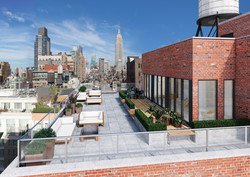 Roof Deck With Furniture
