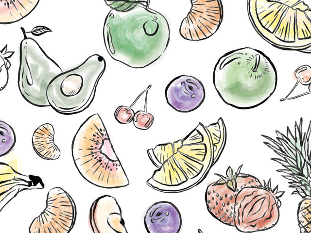 Menu Design for Juice Bar