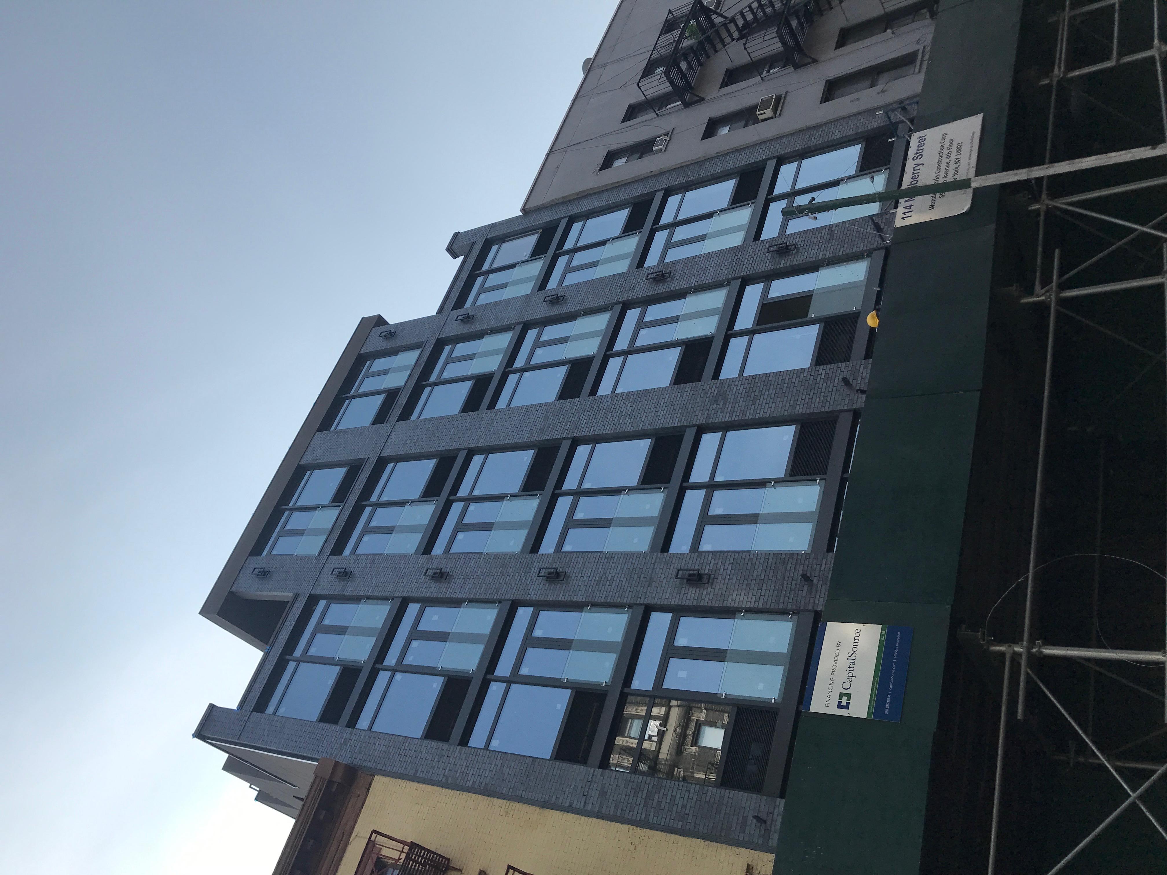 114 Mulberry Street - Parioli - Facade
