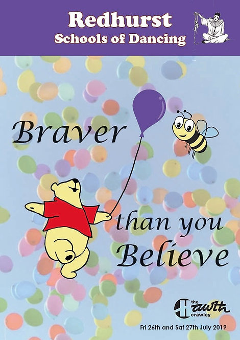Brave than you Believe Hard Copy DVD